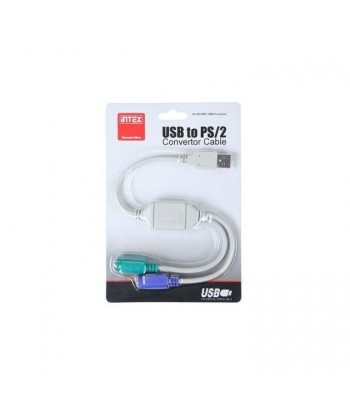 USB INTEX - CABLU USB-2PS2