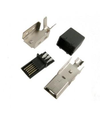 MUSB-W5P - CONECTOR MINI USB B