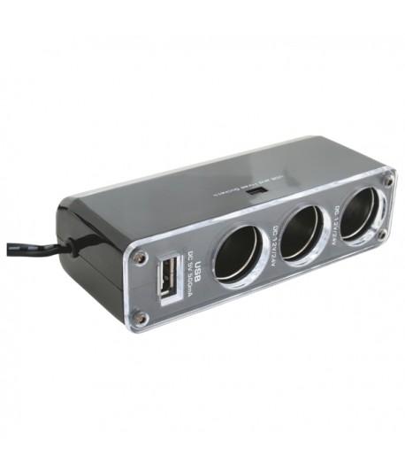 DISTRIBUITOR PRIZA BRICHETA+USB SA 023