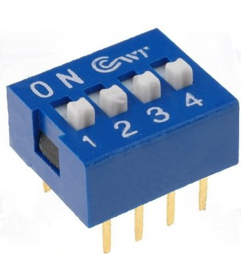 DS-04 - DIP SWITCH