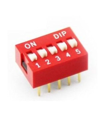 DS-05 - DIP SWITCH