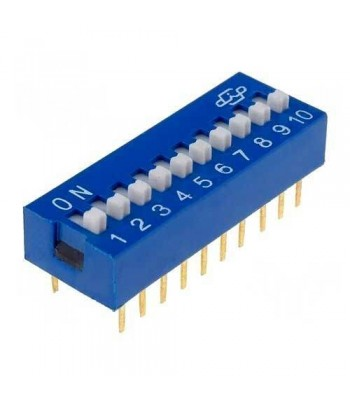 DS-10 - DIP SWITCH
